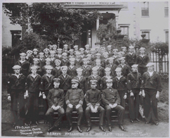 Graduating class photo of the Hosptial Corps Training School 17th Class