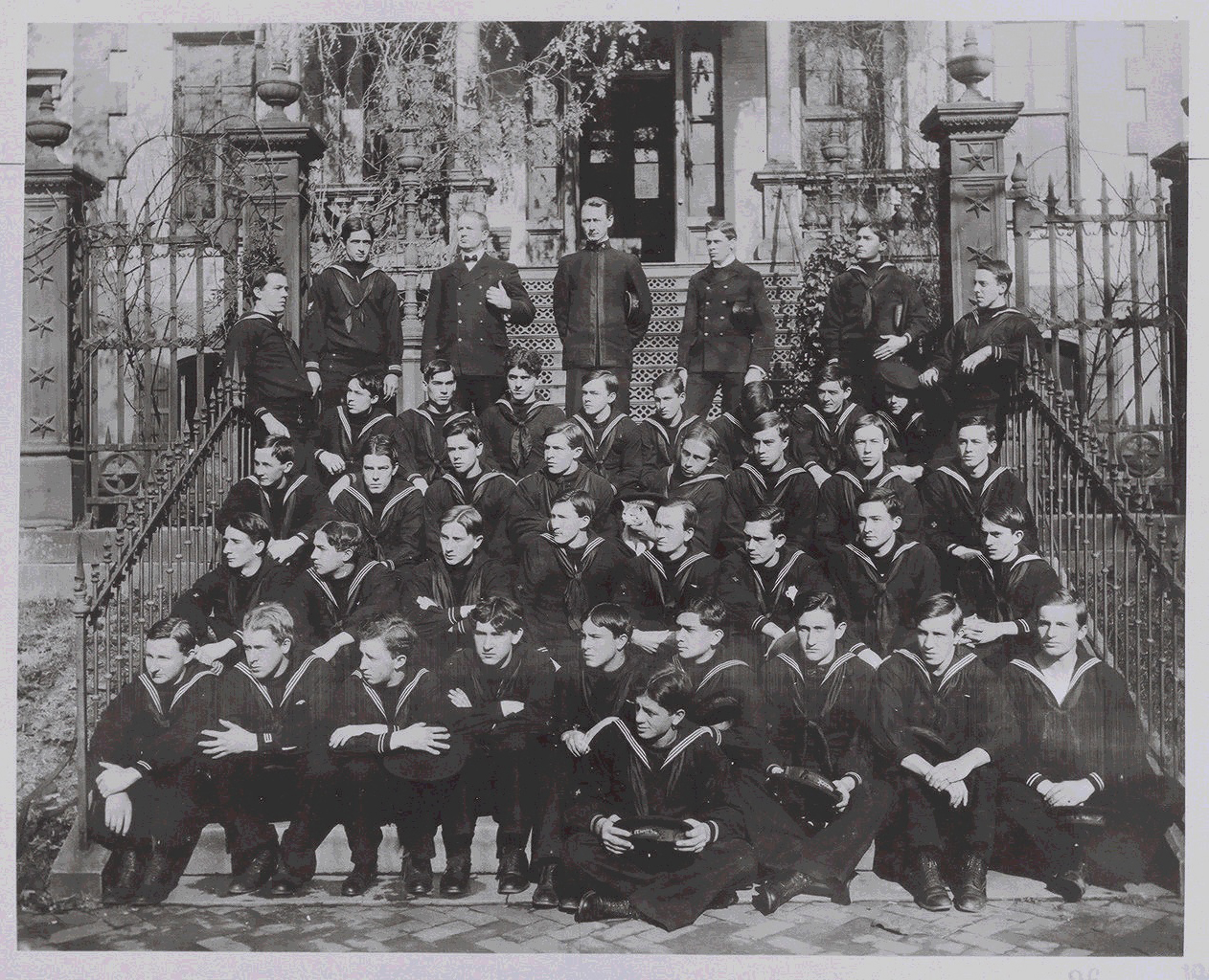 Hospital Corp Training School - undated graduation photograph