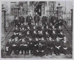 Graduating class photo of the Hosptial Corps Training School