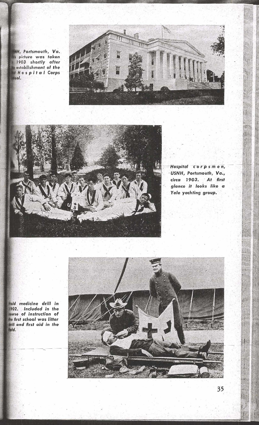 Development of Service Instruction (Naval Hospital Corps Training School) Page 35