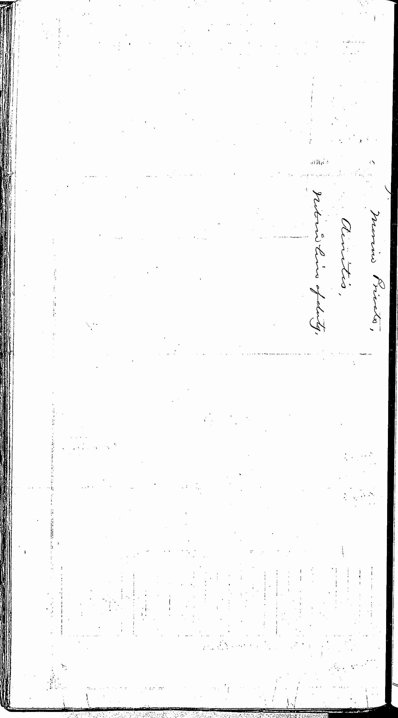 Entry for Zachariah McFarland (page 2 of 2) in the log Hospital Tickets and Case Papers - Naval Hospital - Washington, D.C. - 1866-68