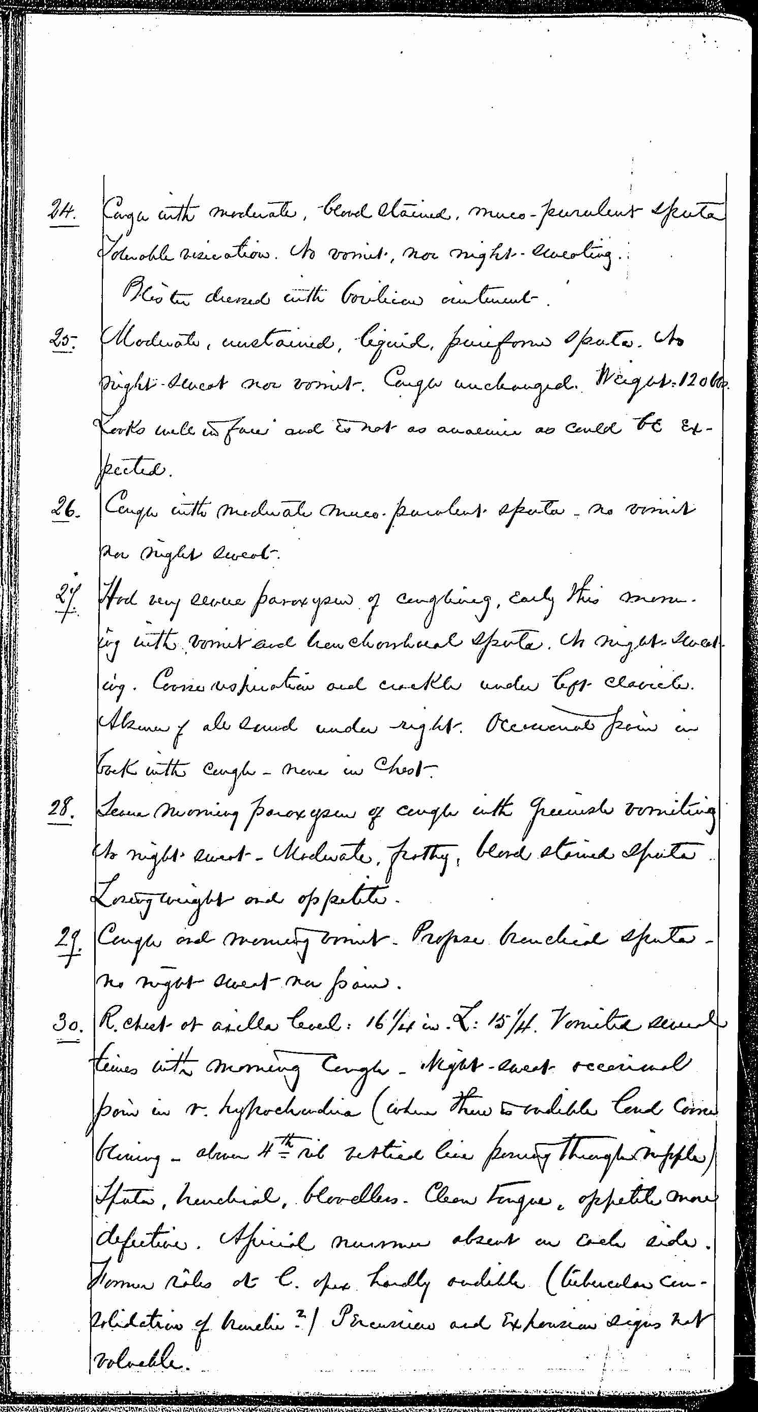 Entry for Hugh Riley (page 16 of 31) in the log Hospital Tickets and Case Papers - Naval Hospital - Washington, D.C. - 1868-69