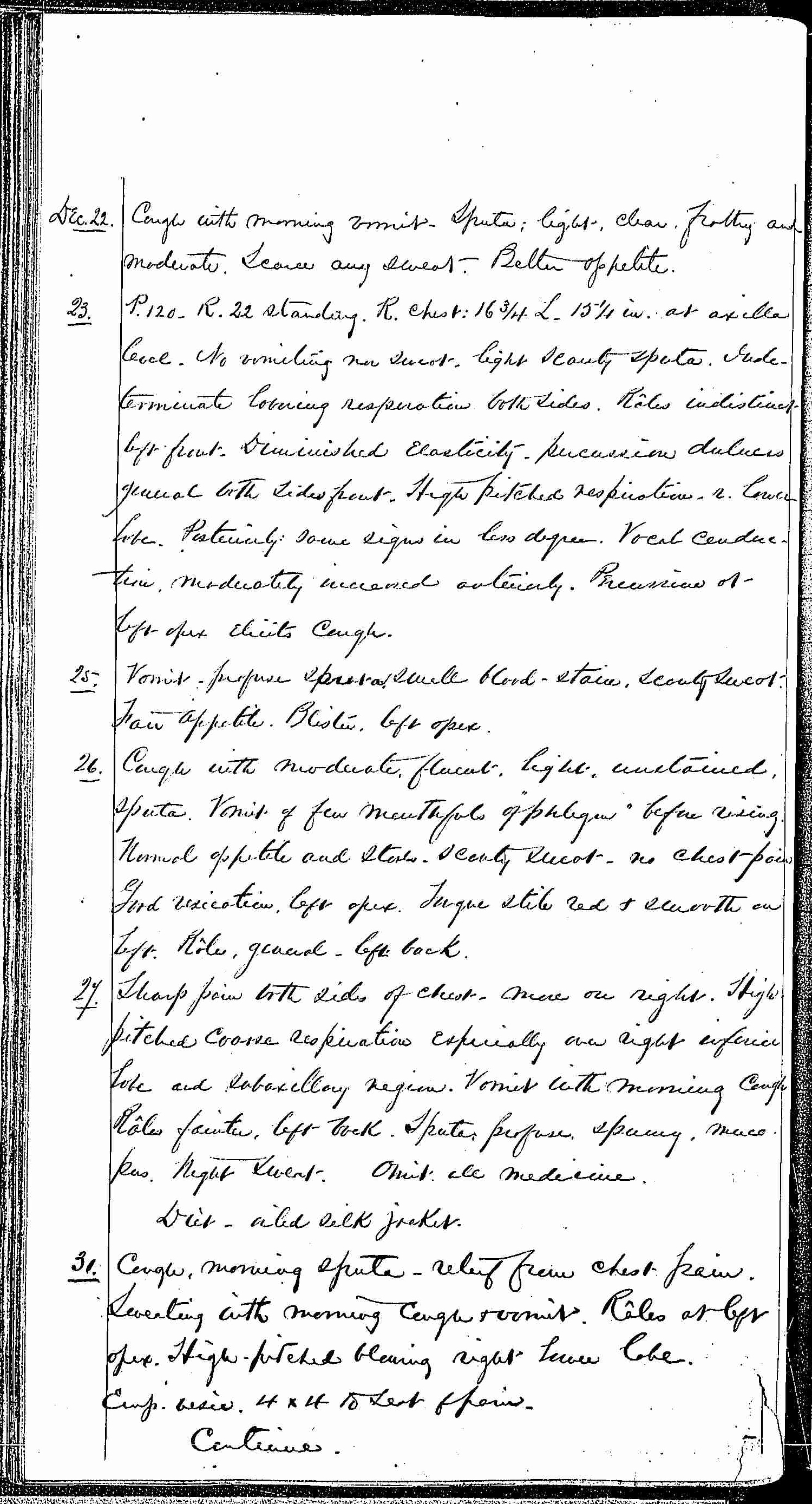 Entry for Hugh Riley (page 20 of 31) in the log Hospital Tickets and Case Papers - Naval Hospital - Washington, D.C. - 1868-69