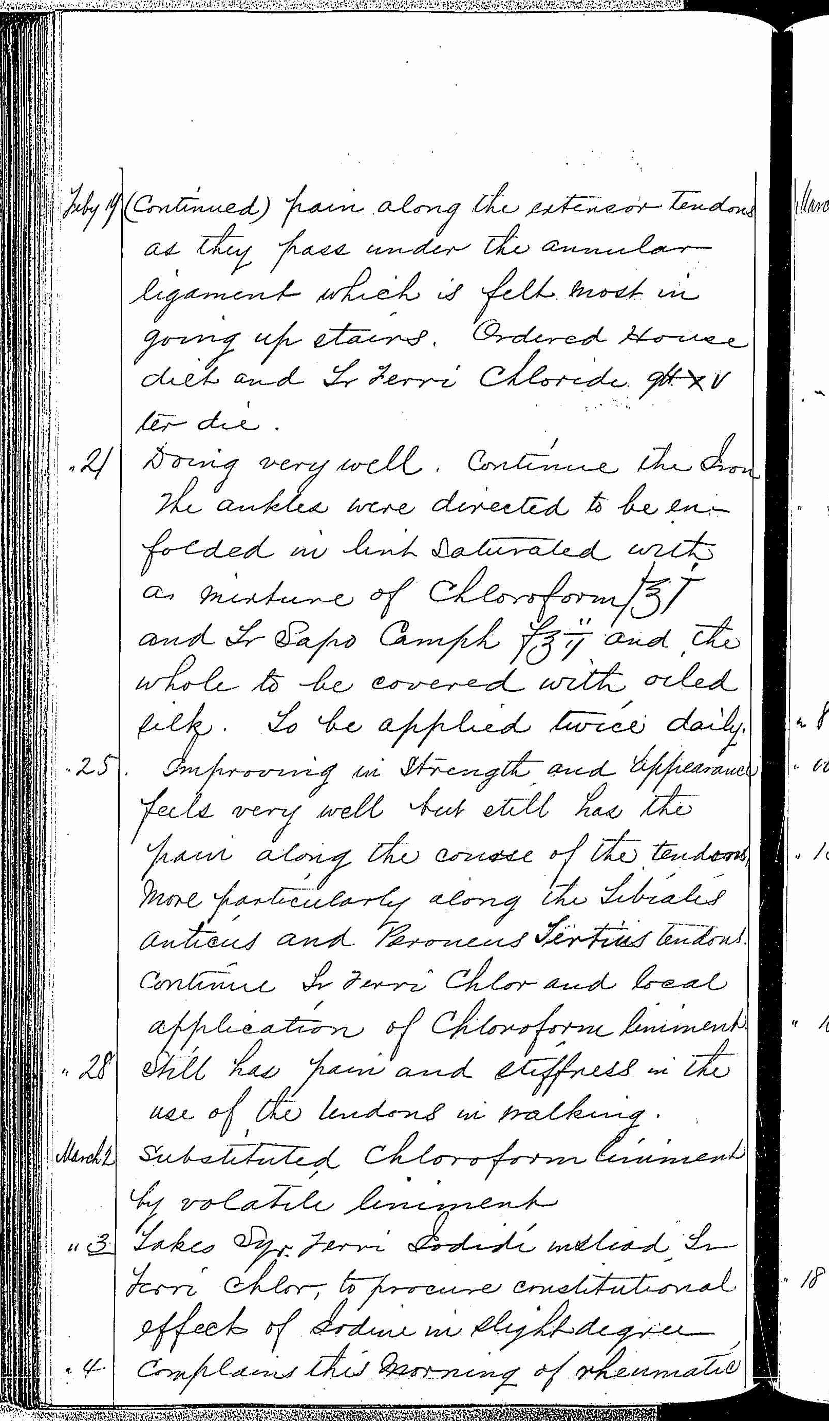 Entry for James McNalty (page 2 of 3) in the log Hospital Tickets and Case Papers - Naval Hospital - Washington, D.C. - 1868-69