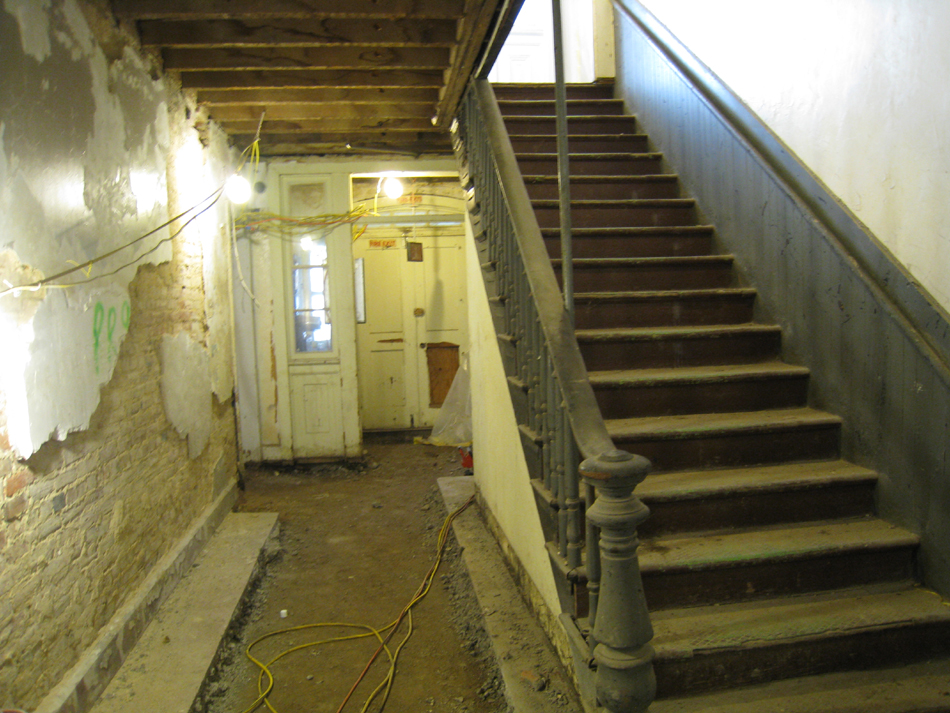 Basement Stairs - North