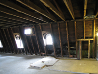 Third Floor, Looking North - July 27, 2010