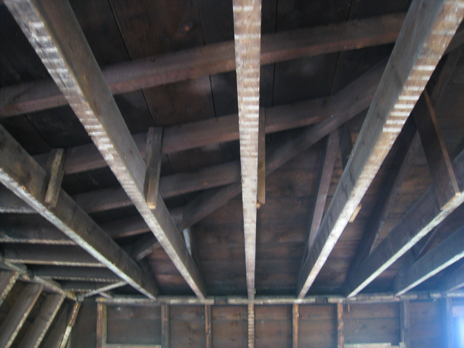 Third Floor West, Ceiling Detail - July 27, 2010