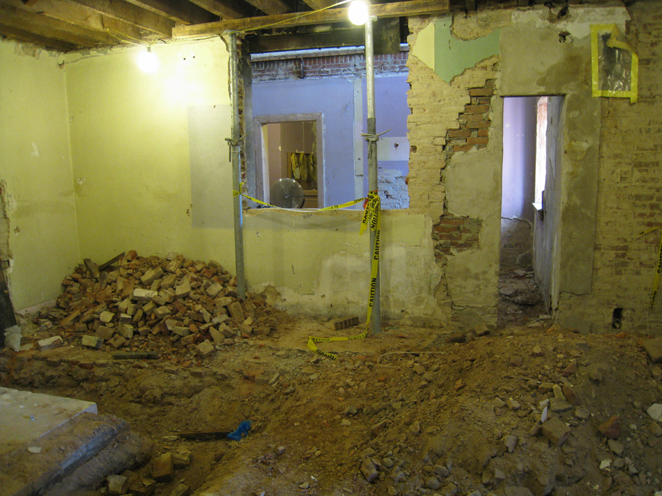 Ground Floor -- looking East from South Central hall - September 8, 2010