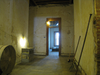 Second Floor - Looking East in the Corridor - September 8, 2010