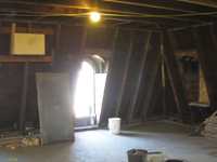 Third Floor - Exit in West Room - September 8, 2010