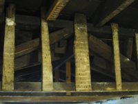 Third Floor - Detail Above North Stairwell - September 8, 2010