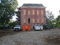 Elevation - West Side (Without Fire Escape) - September 17, 2010