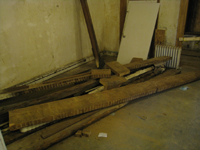 First Floor - Salvaged Joists