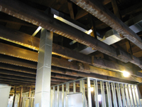 Third Floor - West Room Framing and Ducting Detail