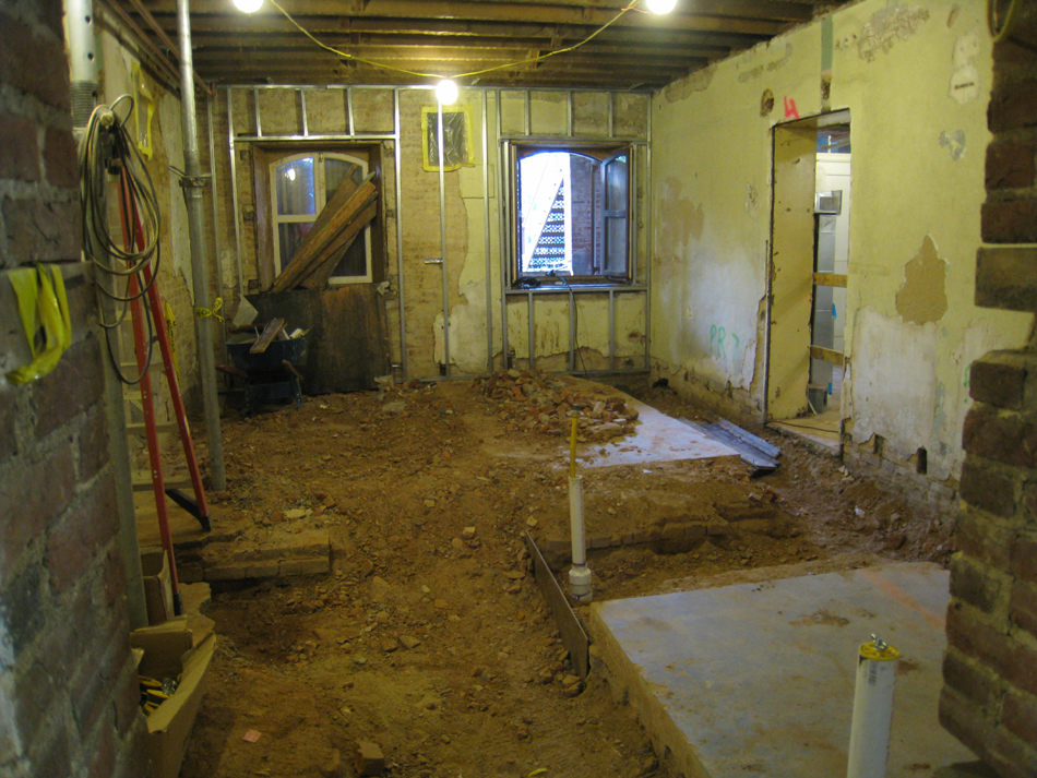 Ground Floor--South central room