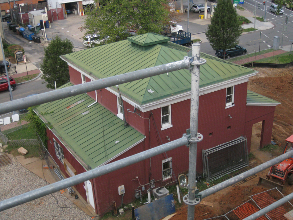 Carriage House--View from above