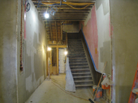 First Floor--Looking north in main corridor - December 2, 2010