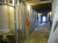 Third Floor--Looking west in main corridor - December 2, 2010