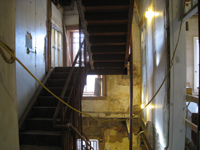First Floor--East stair - December 28, 2010