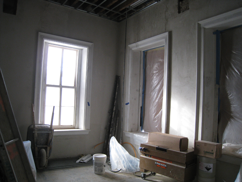 First Floor--South west corner room - December 28, 2010