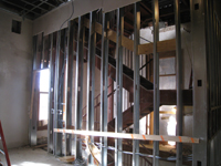 Second Floor--East stair - December 28, 2010