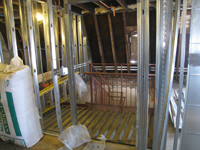 Third Floor--East stair - December 28, 2010