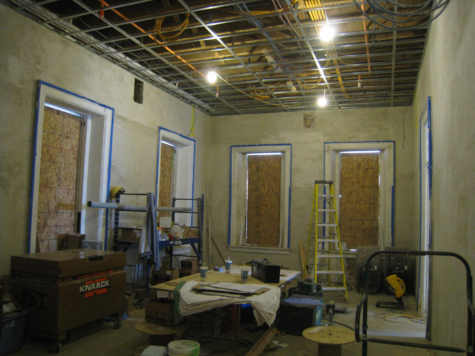 First Floor--North east corner - December 28, 2010