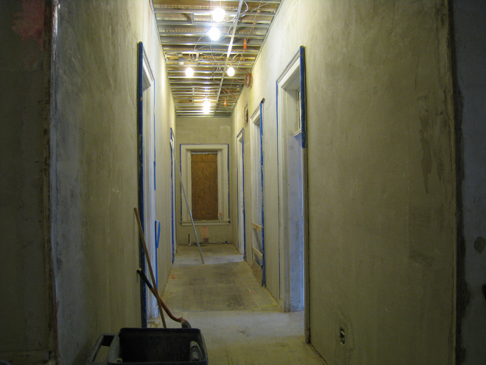 First Floor--Looking east from central corridor - January 7, 2011