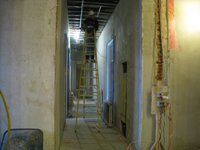 First Floor--Looking west from central corridor - January 7, 2011