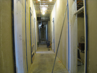 First Floor--Looking west from east end of corridor - January 7, 2011