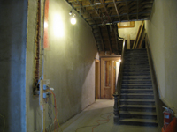 First Floor--Looking north in central corridor - January 7, 2011