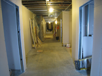 Third Floor--Corridor from west end looking east - January 7, 2011