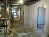 Third Floor--From east end of corridor looking west - January 7, 2011