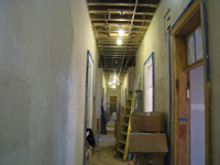 First Floor--Looking east from west side of corridor - January 20, 2011