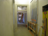Second Floor-Corridor looking west - February 1, 2011