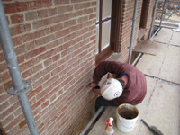 Windows and Doors--Repairing sills with Jahn Mortar - February 18, 2011