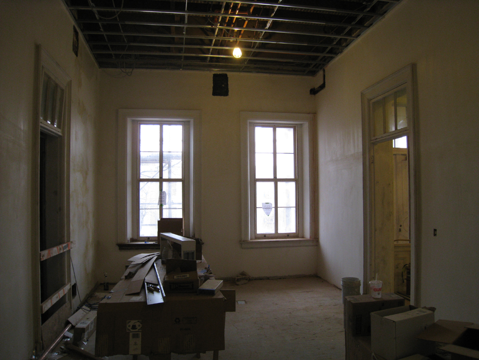 First Floor--South east central room - February 18, 2011