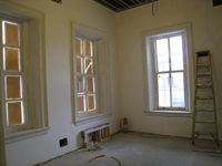First Floor--Southeast corner room - February 18, 2011