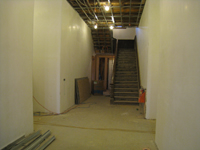 First Floor--Looking north towards entrance - February 18, 2011