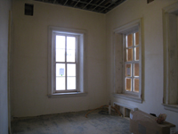 First Floor--Southwest corner room - February 18, 2011
