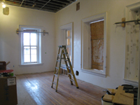 Second Floor--Southwest corner room - February 18, 2011