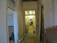 Second Floor--Corridor looking east - February 18, 2011