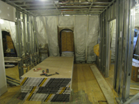 Third Floor--East end of corridor - February 18, 2011