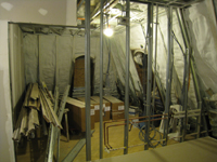 Third Floor--Northeast corner room - February 18, 2011