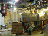 Geothermal/HVAC--Mechanical room - March 3, 2011