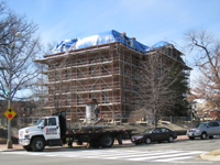 Elevation--Northeast corner (Pennsylvania Ave.) - March 3, 2011