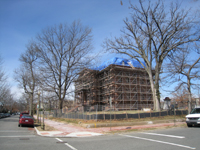 Elevation--Southeast corner - March 3, 2011
