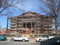 Elevation--South entrance - March 3, 2011