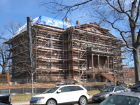 Elevation--Southwest corner - March 3, 2011