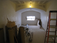 Third Floor--Drywalled south central room - March 15, 2011